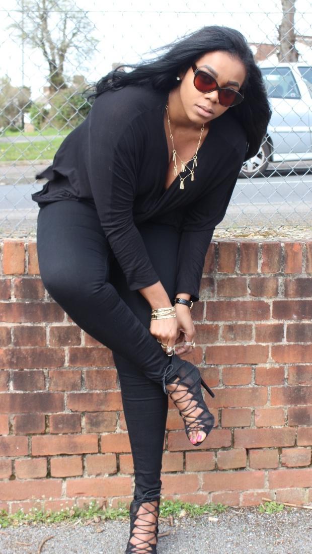 Bent over heels